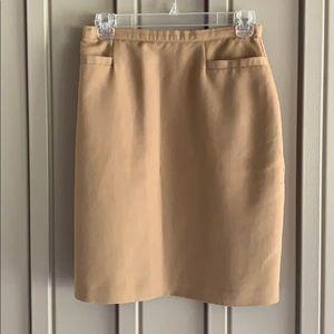 Worthington Tan Skirt size 8